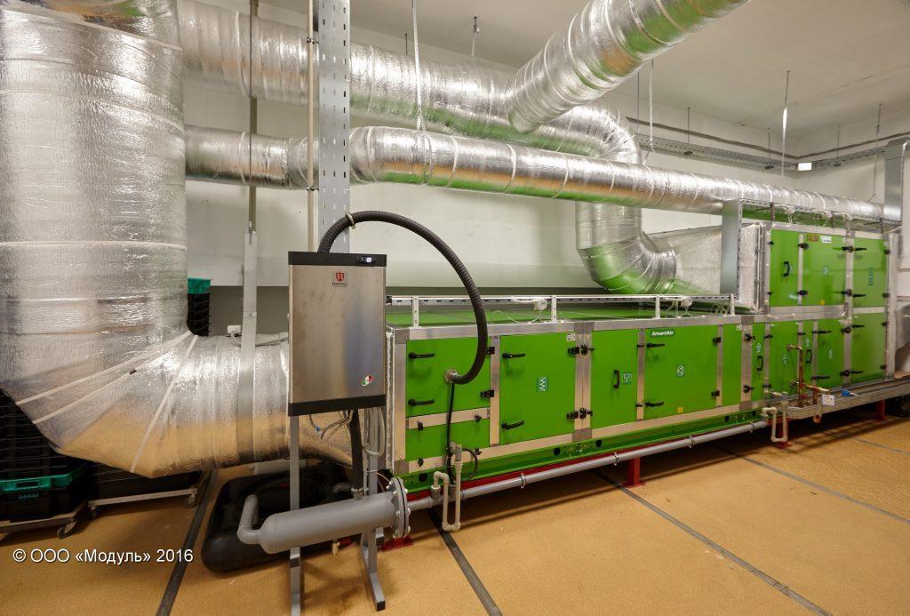 Вентиляционная установка чистых помещений