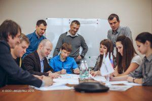 Команда инженеров-проектировщиков